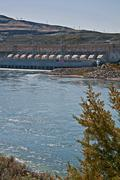 Chief Joseph Dam - stock photo