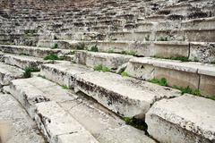 Stock Photo of ancient greek amphitheatre