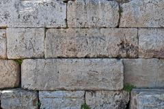 Stone wall. Stock Photos