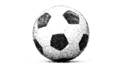 Soccerball. Looping. Stock Footage