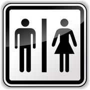 Vector man woman access Piirros