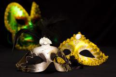 Theatrical masks Stock Photos