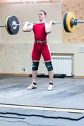 heavy athletics, weightlifter... ... - stock photo