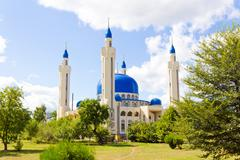 islam mosque of south russia - stock photo