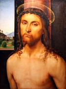 Christ crowned with thorns Stock Photos