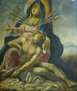 Seven Sorrows of the Blessed Virgin Mary Stock Photos