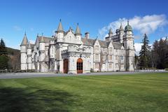 Balmoral castle Stock Photos