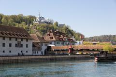 lucerne - stock photo