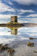 Castle stalker - stock photo