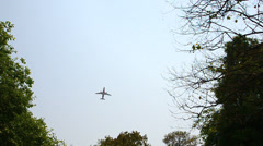 Airplane take off Stock Footage
