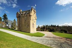 Crathes Castle Stock Photos