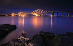 Forth Railway Bridge Stock Photos