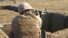 US-Navy - Marines 01 - Fire & Maneuver Training 03 - Camp Pendleton Stock Footage