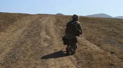 US-Navy - Marines 01 - Fire & Maneuver Training 12 - Camp Pendleton Stock Footage