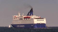 DFDS Crown Seaways Stock Footage