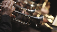 Stock Video Footage of Stock video footage brass instruments, symphony orchestra,