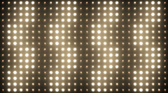 Vj Flashing Lights Bulb Stage Lights 4k Ultra HD Stock Footage