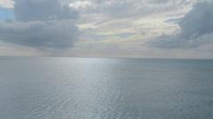 Antiguan Skyline Overlooking the Caribbean - stock footage