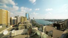 Dubai deira part time lapse Stock Footage