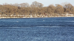 St Lawrence River Stock Footage