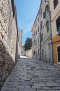 Old mediterranean town Stock Photos