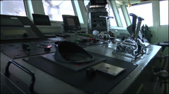 US-Navy - Transportation Ship - Puerto Rico - Unloading 08 Stock Footage