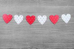 valentines day  symbols - stock photo