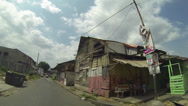 Stock Video Footage of Shanty town or poor area in Panama