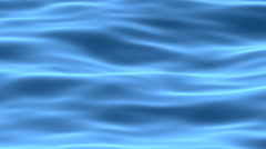 Blue abstract water surface animated background Stock Footage