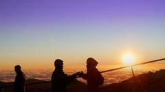 Haleakala Crater Maui Stock Video Stock Footage