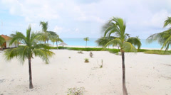Hd - turks and caicos ocean front view Stock Footage