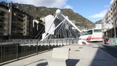Andorra la Vella Stock Footage