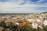 Stock Photo of Osuna rooftops, Andalusia, Spain