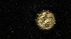 Throbbing Planet Stock Footage
