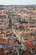 Cityscape of Lisbon, Portugal buildings Stock Photos