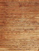 Wooden timbered wall Stock Photos