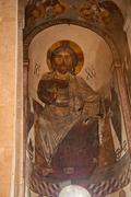 Icon of jesus in an old historic catholic church Kuvituskuvat