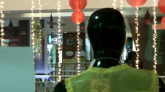 India Federal State of Karnataka City of Mangalore 002  mannequin figure Stock Footage