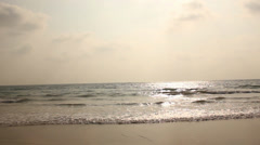 Ngwe Saung Beach Stock Footage