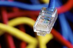 ethernet - stock photo