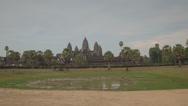 Stock Video Footage of Angkor Wat temple hyperlapse 4K
