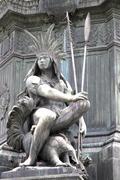 Statue in rio de janeiro. Stock Photos