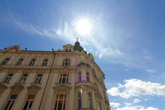 historic architecture in maribor - stock photo