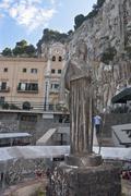 "The sanctuary of Santa Rosalia ""Santuzza"" in Palermo Stock Photos"