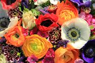 Stock Photo of spring bouquet in bright colors