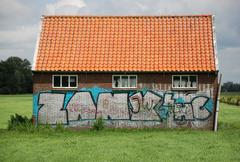 Graffity. - stock photo