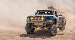 Offroad Desert Motorsports Race Action - stock photo