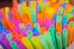 Group of colorful tubes, art background Stock Photos
