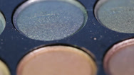 Stock Video Footage of Eyeshadow Palette