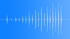 Drumming Fingers On Cardboard Box, V2 Sound Effect